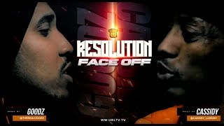 URL RESOLUTION FACE OFF: CASSIDY VS GOODZ (4-27-19) | URLTV