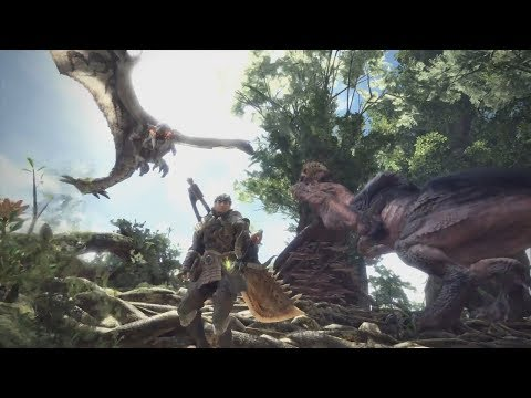 MONSTER HUNTER WORLD Gameplay Walkthrough Developer Demo PS4