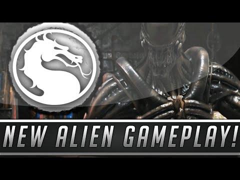 Mortal Kombat X: New Alien Gameplay - Brutality, Fatality & More! (Kombat Pack 2 DLC) |