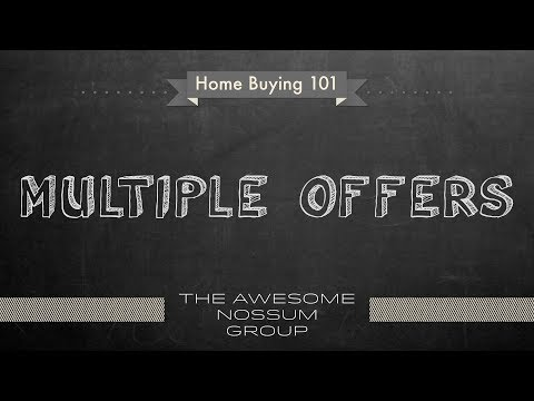 How to buy Real Estate in Seattle - Multiple Offers
