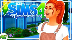 ADO ENCEINTE CHERCHE APPARTEMENT ! Maman à 16 ans #1 | Les Sims 4