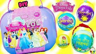 LOL Bigger Surprise CUSTOM DIY DISNEY PRINCESSES Custom Princesses, Toys, Activities