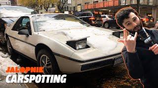 The Pontiac Fiero Is a True NYC Car | Carspotting