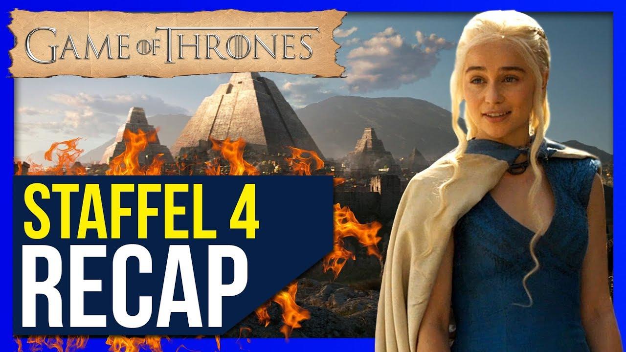 Game Of Thrones Staffel 4 Zusammenfassung Recap Youtube