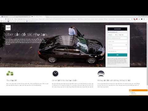 Hướng Dẫn đăng Ký Làm Tài Xế Lái Xe Uber