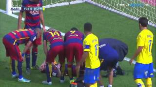 Lionel messi suffered a knee injury early in saturday's la liga game at home to las palmas and will now face seven eight weeks on the sidelines, according...