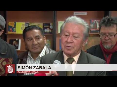 Elecciones Dirección de Pichincha CCE: Simón Zavala, Lista 3