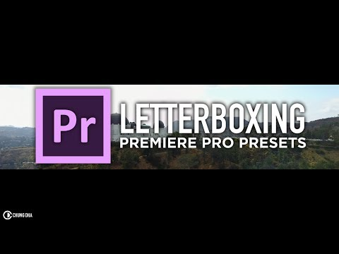 Letterboxing Preset for