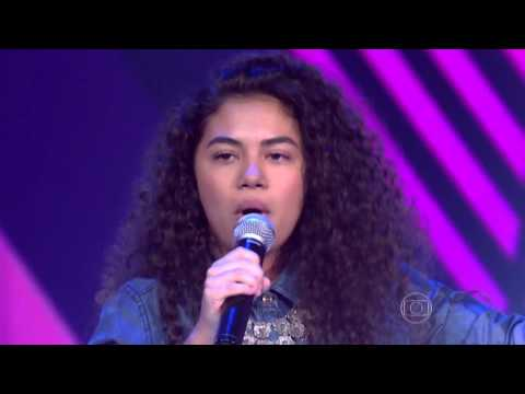 Nathy Veras canta 'Back to Black' no The Voice Kids - Audições|1ª Temporada