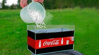 Experiment: Coca Cola and Dry Ice