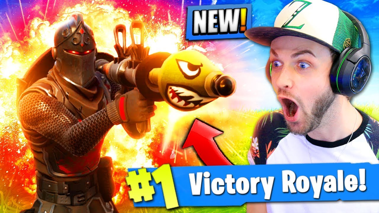 New High Explosive Mode In Fortnite Battle Royale Crazy Youtube