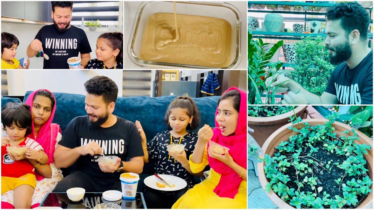 മക്കൾക്ക് വേണ്ടി ഒരു കിടിലൻ Ice Cream 🍨   The BB Garden    Suhana   Basheer Bashi   Mashura