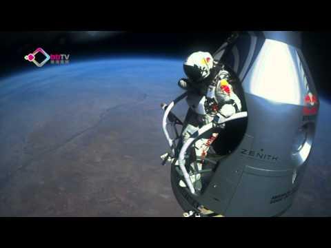 太空邊緣挑戰超音速跳傘