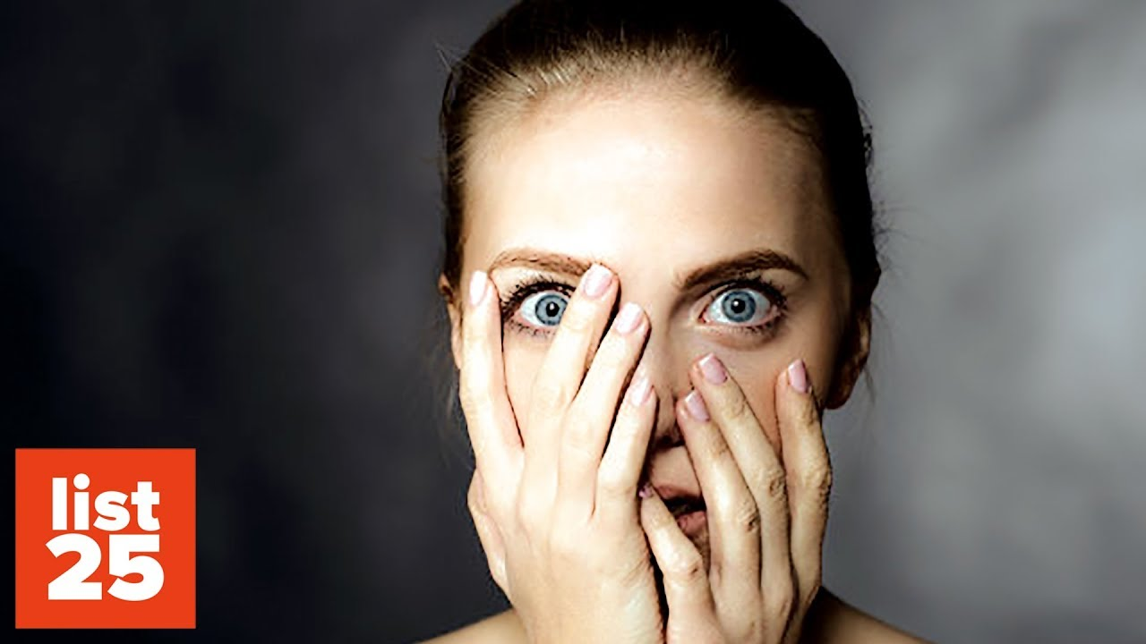25 Strangest Phobias You Could Have