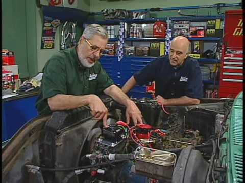 installing a mallory distributor  two guys garage