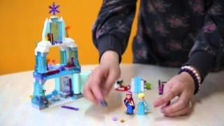 Lego Disney Frozen Princess Elsa's Sparkling Ice Castle Set #41062 Unbox