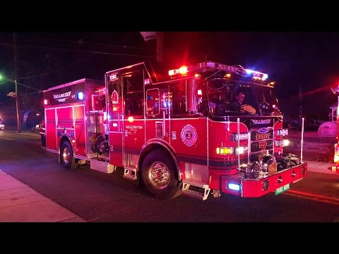 BERGEN COUNTY NEW JERSEY FIRE TRUCKS RESPONDING COMPILATION P-2