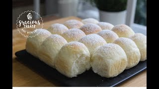 Soft Fluffy Dinner Rolls | Milk Bread Recipe | Eggless
