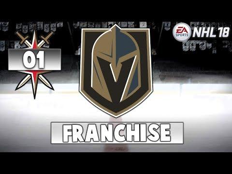 Lets Play FR | NHL 18 | Franchise | #1