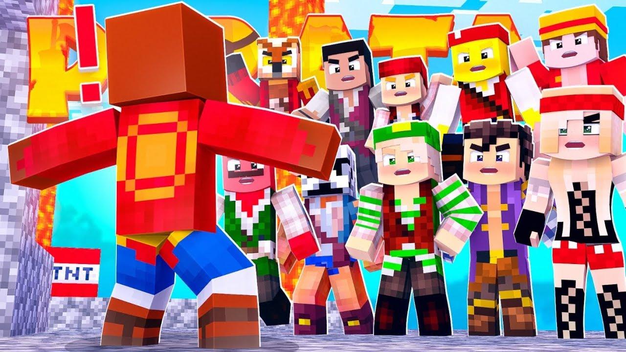 ATACAN MI GRANJA DE EXPERIENCIA | Minecraft Piratas #8