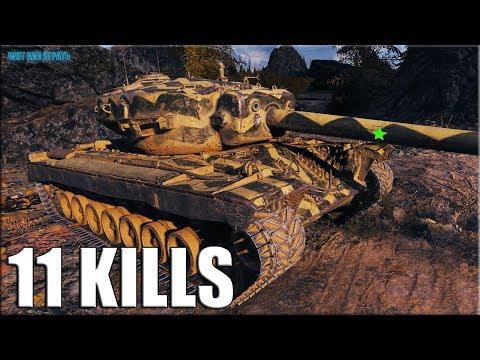 Т30 красава сделал бой ✅ 11фрагов World of Tanks ПТ-САУ США 9 уровень
