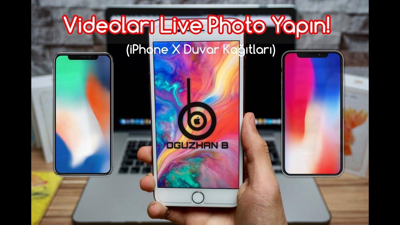 Iphoneda Videoları Live Photo Yapın Iphone X Duvar Kağıtları