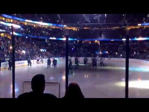 Tampa Bay Lightning Opening Pregame vs Edmonton Oilers 1/19/16