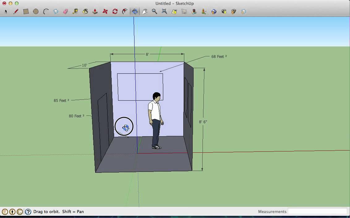 Sketchup Room Design 1 Youtube