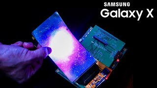 Samsung's Foldable Phone Shows Up!