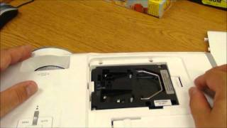 Tech Support: How to change the bulb on a Vivitek DLP projector