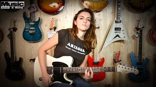 Laura Cox - 10 Classic Rock Intros on a GJ2 Hellhound