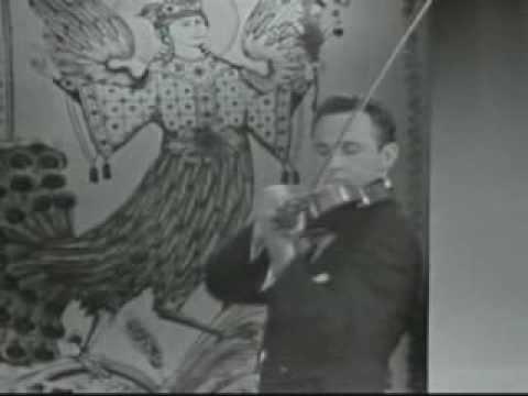 Aaron Rosand - Tartini Devil's Trill Sonata (Excerpt)