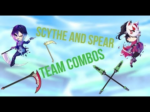 Brawlhalla Team Combo with  Scythe and Spear