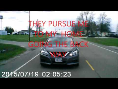 SUSAN STONE ( CAR CHASE COPS & 911 CALLED HARASSMENT