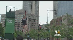 Zipline Over Boston's Rose F. Kennedy Greenway Set For Opening
