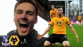 WOLVES FOR EUROPE? Crystal Palace Vs Wolves Away Day Vlog