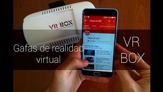 VR Box en Español, Gafas de realidad virtual Low-Cost