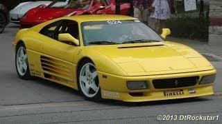 Saleen S7, Ferrari 365 Daytona, 348 Challenge, McLaren MP4 12C, Countach, Diablo