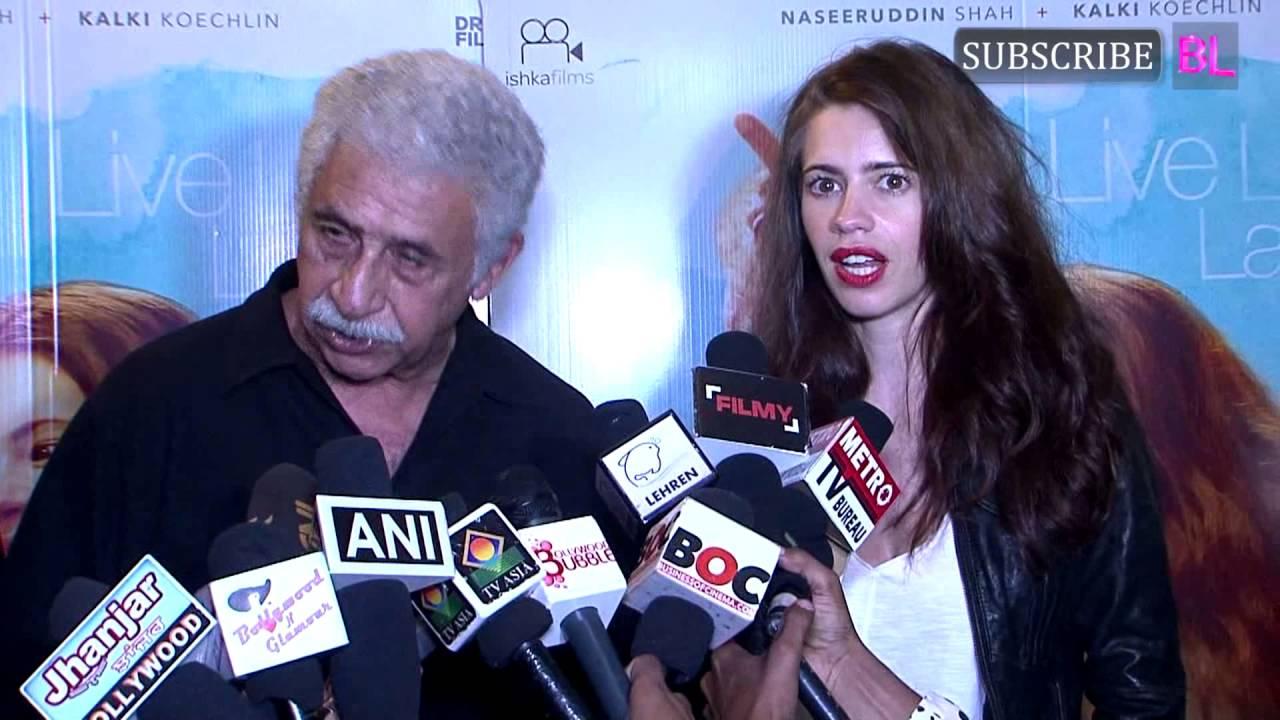 Download Naseeruddin Shah   Kalki Koechlin   Screening of Film Waiting