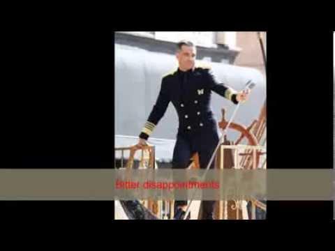 Robbie Williams - Go Gentle - Lyrics on Screen
