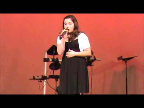 Adele Turning Tables by 11 year old Alex Windham Middle School Talent Show 2012