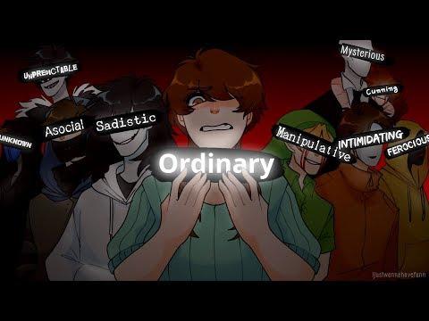 Ordinary (Fan made creepypasta visual novel trailer)