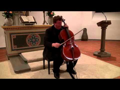 Cassadó cello suite - Guido Schiefen [HD]