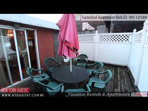 Video Tour of a 3-Bedroom Furnished Apartment in Midtown West, Manhattan