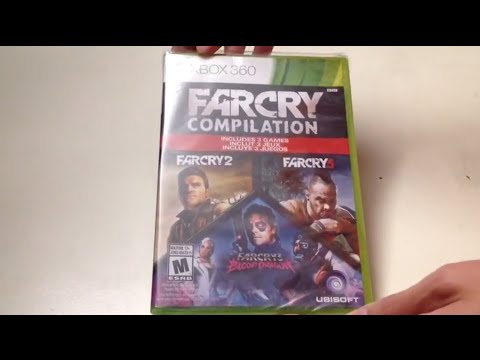 Far Cry Compilation Xbox 360 Unboxing Youtube