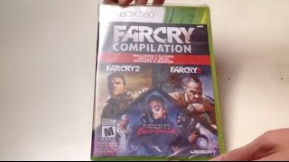 Far Cry Compilation (Xbox 360) Unboxing