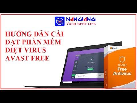 Hướng Dẫn Cài đặt Phần Mềm Diệt Virus Avast Free 2019