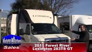 Mr Motorhome 2011 Forest River Lexington 283TS GT preowned class B for sale #1267 Sacramento Ca