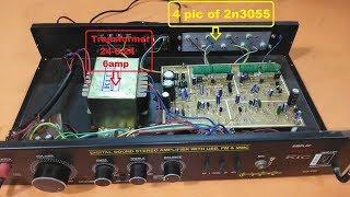 Video 2n3055 diy Audio Amplifier 2x200W download MP3, 3GP, MP4, WEBM, AVI, FLV Agustus 2018