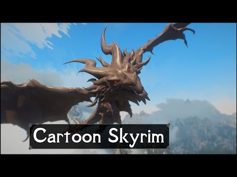 Skyrim: How It Was NEVER Supposed To Look – Reimagining The Elder Scrolls 5: Skyrim As A Cartoon